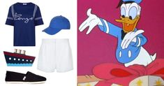 You Pretty Much Need These 14 Novelty Bags to Complete Your Next DisneyBound Look   Donald Duck-inspired outfit + Kate Spade cruise ship clutch purse   [ http://di.sn/6000B7fNi ]