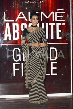 Deepika Padukone and Karisma Kapoor attended the Sabyasachi show at the Lakme…