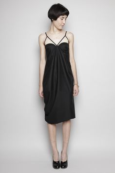 Jil Sander - Monologo Cross-Strap Dress