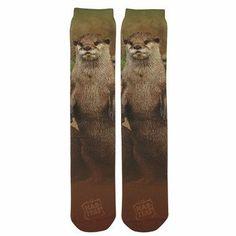 River Otter Sublimation Tube Socks