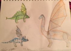 If dinosaurs were dragons-by: Madison Latella
