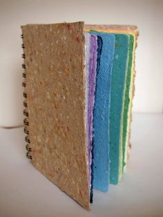 Handmade Recycled Paper Art Journal  Made to by craftstudiopaper, $18.00    I received my BEAUTIFUL Journal today...in LOVE!!