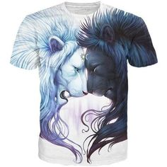 Light and Dark are two sides of the same coin inthis beautiful Brotherhood T-Shirt by Jonas Jödicke! This all-over-print design features Day and Night personif