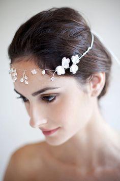 Butterfly Hair Vine by Marisol Aparicio