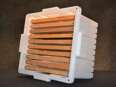 Food-grade, heavy-duty, holds all frame sizes securely and separately, no matter the orientation of the box! Harvesting Honey, Honey Extractor, Bee Hive Plans, Beekeeping Equipment, Raising Bees, Backyard Beekeeping, Frame Sizes, Bee Keeping, Food Grade