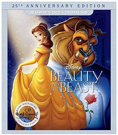 nice Beauty and the Beast: 25th Anniversary Edition - (BD+DVD+DIGITAL HD)