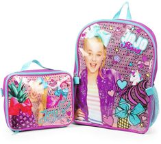 Get your JoJo Siwa fan ready for school in style with this backpack and lunch box set. Jojo Siwa Bows, Jojo Bows, Jojo Siwa Birthday, 10th Birthday, Birthday Gifts, Jojo Siwa Outfits, Lunch Box Set, School Sets, Halloween Costumes For Girls