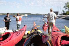 Velkommen til Norges første, sammenhengende padleled! Boat, Nature, Dinghy, Boats, Ship