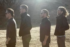 Imagine Dragons from left, Daniel Platzman, Dan Reynolds, Ben Mckee, Wayne Sermon