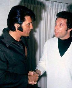 Elvis & Tom Jones.