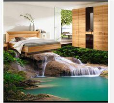36.28$  Buy here - https://alitems.com/g/1e8d114494b01f4c715516525dc3e8/?i=5&ulp=https%3A%2F%2Fwww.aliexpress.com%2Fitem%2FCustom-3D-PVC-wallpaper-photo-wallpaperOnly-beautiful-romance-falls-on-enhancing-water-3-d-floor-stickers%2F32527617292.html - Custom 3D PVC wallpaper photo wallpaperOnly beautiful romance falls on enhancing water 3 d floor stickers floor wallpaper 36.28$