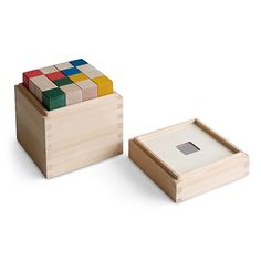 Mastro Geppetto/積み木のセット cubicolo base 10920yen 形や数を正しく認識!積み木の可能性は無限大