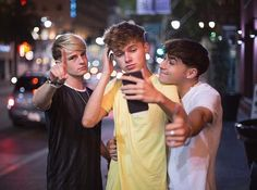 Andy , Harvey and Rye Road Pictures, Funny Pictures, Youtube Vloggers, Roadtrip Boyband, Brooklyn Wyatt, Smile Because, The Duff, Future Husband, Cool Bands