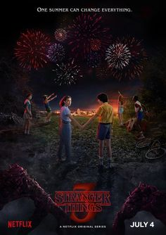 Stranger Things Season 3 Premiere Date and Poster. The official premiere date and TV show poster for Season 3 of Stranger Things have been released by Netflix. Stranger Things will premiere on Netflix on July Stranger Things Netflix, Stranger Things Saison 1, Poster Stranger Things, Stranger Things Tumblr, Watch Stranger Things, Stranger Things Aesthetic, Stranger Things New Season, Robert Forster, Millie Bobby Brown