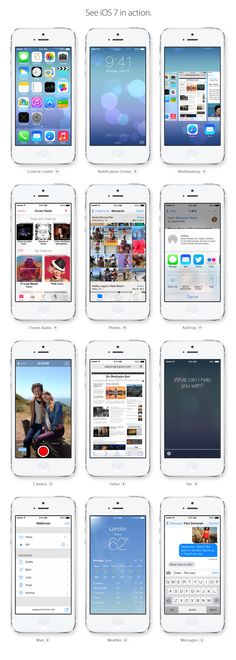 iOS7... Looks AWESOME... CANT WAIT!!!!!!!!