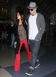 #bafafamoda Street style Jenna Dewan-Tatum Flare Jeans - Flare Jeans Lookbook - StyleBistro