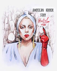 #AHSHotel will be on in 20 more minutes! Can't wait to see you on screen again Gaga