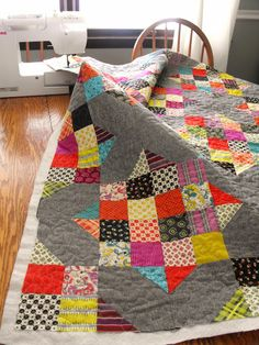 I had one more quilt finish in 2013. This might be my favorite of the year! Chicopee by Denyse Schmidt,...