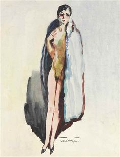 Artworks of Kees van Dongen (Dutch, 1877 - 1968)