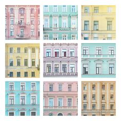 Saint Petersburg in pastels