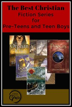 Are you looking for Christian Teen Fiction that will get your boys excited about reading? Here is a list of some of the top books that are making waves.