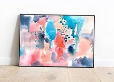 Artwork Above Bed, Above Bed Decor, Printing Services, Online Printing, Pastel Walls, Aesthetic Room Decor, Watercolour Painting, Printable Wall Art, Tapestry