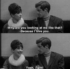 Pierrot Le Fou • Jean-Luc Godard (1965)