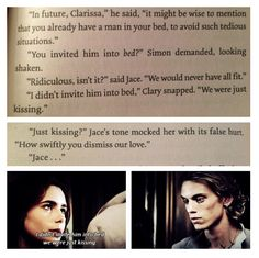 """How swiftly you dismiss our love."" ~Jace Wayland (Jamie Campbell Bower) in The Mortal Instruments City of Bones"