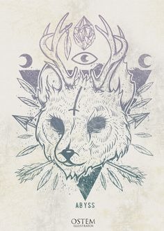 By Ostem #symbolism #illustration