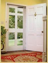 6-lite Wooden Storm Door