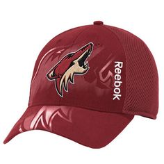 Men's Reebok Maroon Arizona Coyotes Center Ice Second Season Adjustable Hat
