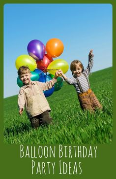 Float Away with this Fantastic Boy's Balloon Birthday Party - Spaceships and Laser Beams