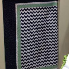Chevron quilt, Riley blake