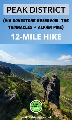 Hiking Europe, Hiking Trips, Backpacking Tips, Peak District England, Cool Places To Visit, Places To Go, Travel Inspiration, Travel Ideas, Travel Tips
