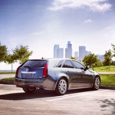 The #Cadillac #CTS #Sport Wagon