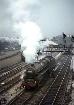 5MT 45290 light near Bolton Station. Mar'68.