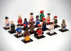 lego streetfighter minifigures