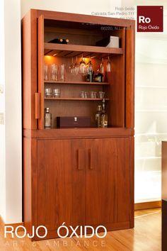 Mueble Bar  -muebles de interior /indoor furniture  -Diseño Rojo Óxido  www.rojooxido.mx