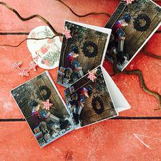 Packaging  para felicitaciones de Navidad en Juanmadelvallefotografía