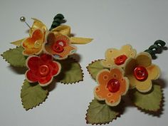 More like fabric crafting : )  love these little flowers though