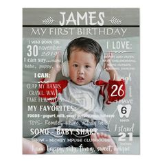 Ad: You can change wording colors and sizes. Just click CUSTOMIZE and you will see different settings. #first #birthday #1st #chalkboard #sign #chalk #board #poster #banner #milestone #girl