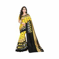 Designer Yellow Bhagalpuri Silk Printed Saree https://www.taazataaza.com/shop/page/2/?s=jaanvi+fashion&post_type=product#038;post_type=product #Clothing #Sarees #Bhagalpurisarees #Bhagalpurisilksarees #Bhagalpurisilkprintedsilksaree #Designeryellowbhagalpurisilkprintedsaree