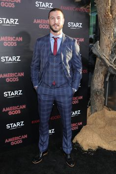 """Pablo Schreiber Photos Photos - Actor Pablo Schreiber attends the premiere of Starz's """"American Gods"""" at the ArcLight Cinemas Cinerama Dome on April 20, 2017 in Hollywood, California. - Premiere Of Starz's 'American Gods' - Arrivals"""