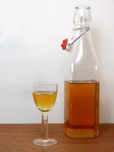 Homemade sinaasappellikeur - recept/recipe - Homemade orange liqueur