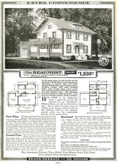 Sears Beaumont  1919; 1920; 1921(3037)