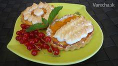 Marhuľové koláčiky so snehom (fotorecept) - Recept