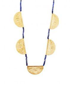 Navy Byzantine Necklace