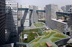Linked Hybrid [Beijing, Steven Holl Architects] - Photo by Iwan Baan