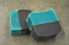 Chocolate Mint Layered Soap | Adventures With The Sage