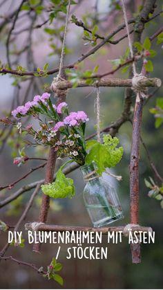 Craft Stick Crafts, Wood Crafts, Diy And Crafts, Garden Solutions, Modern Flower Arrangements, Spring Home Decor, Romantic Gifts, Craft Sale, Crafty Craft